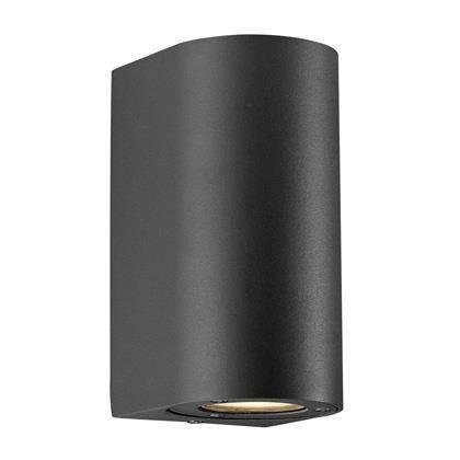 Nordlux Canto Maxi 77561003 Black GU10 Wall Light
