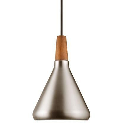 Nordlux Float Ø18 78203032 E27 Brushed Steel Pendant