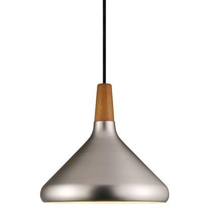 Nordlux Float Ø27 78213032 E27 Brushed Steel Pendant