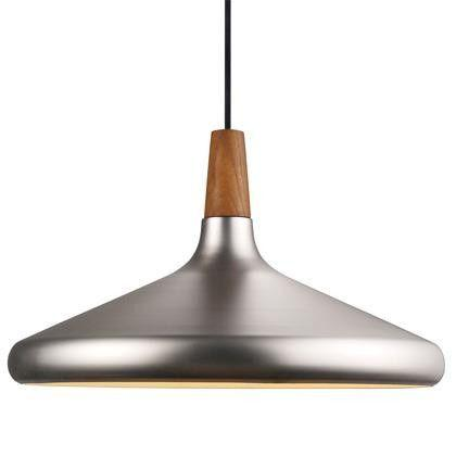 Nordlux Float Ø39 78223032 E27 Brushed Steel Pendant