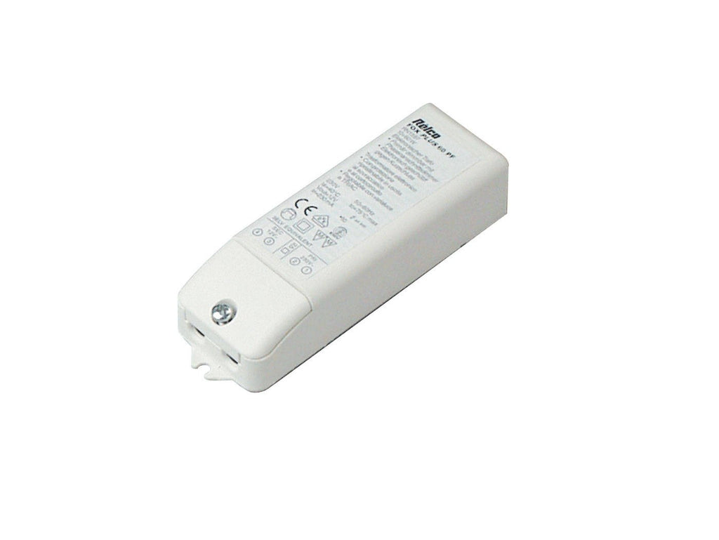 Nordlux Fox Trafo 10-60W 12216001 White Electronic Transformer-DC Lighting Ltd