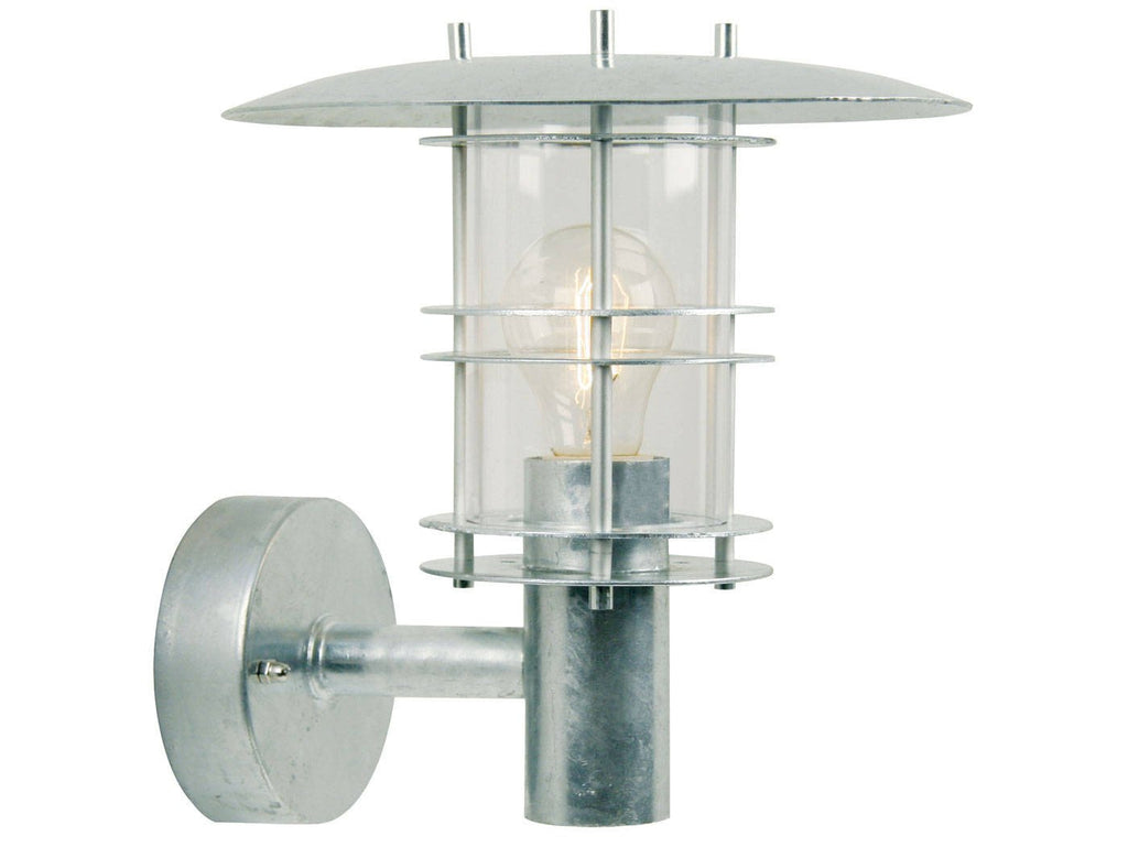 Nordlux Fredensborg 10610119 Galvanized Wall Light-Nordlux-DC Lighting Ltd