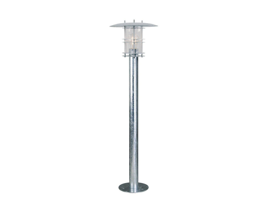 Nordlux Fredensborg 10620119 Galvanized Garden Light-Nordlux-DC Lighting Ltd