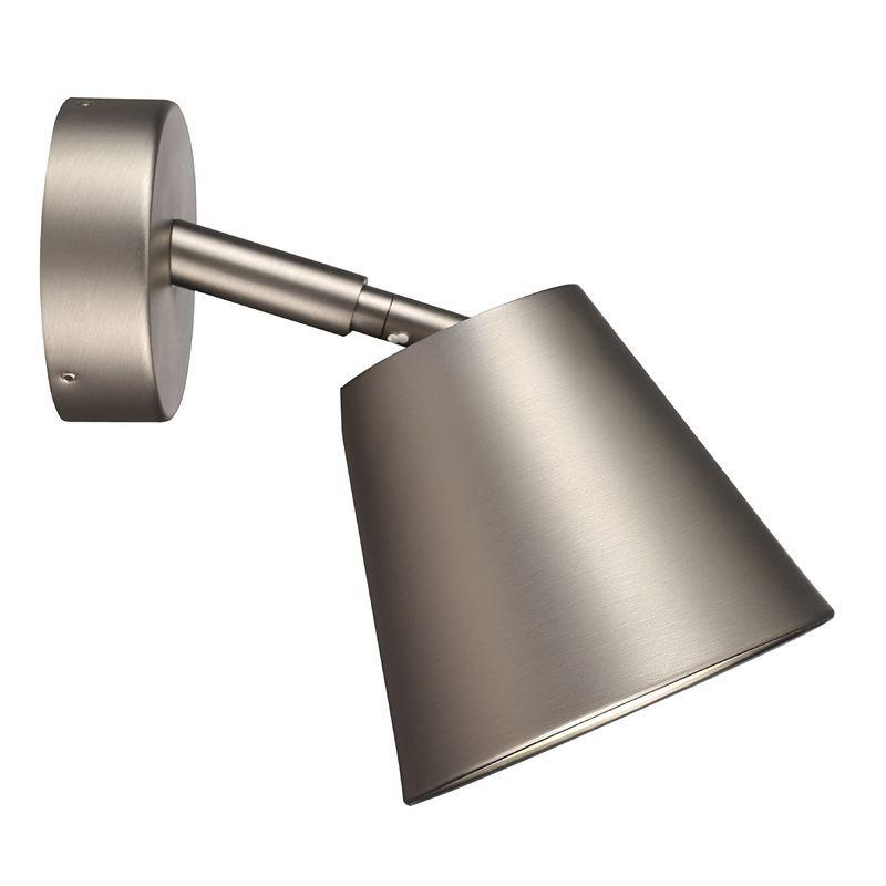 Nordlux IP S6 78531032 Wall GU10 Brushed Steel-Nordlux-DC Lighting Ltd