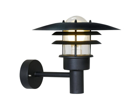 Nordlux Lonstrup 32 71411003 Black Wall Light