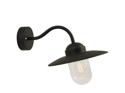 Nordlux Luxembourg 22671003 Matt Black Wall Light