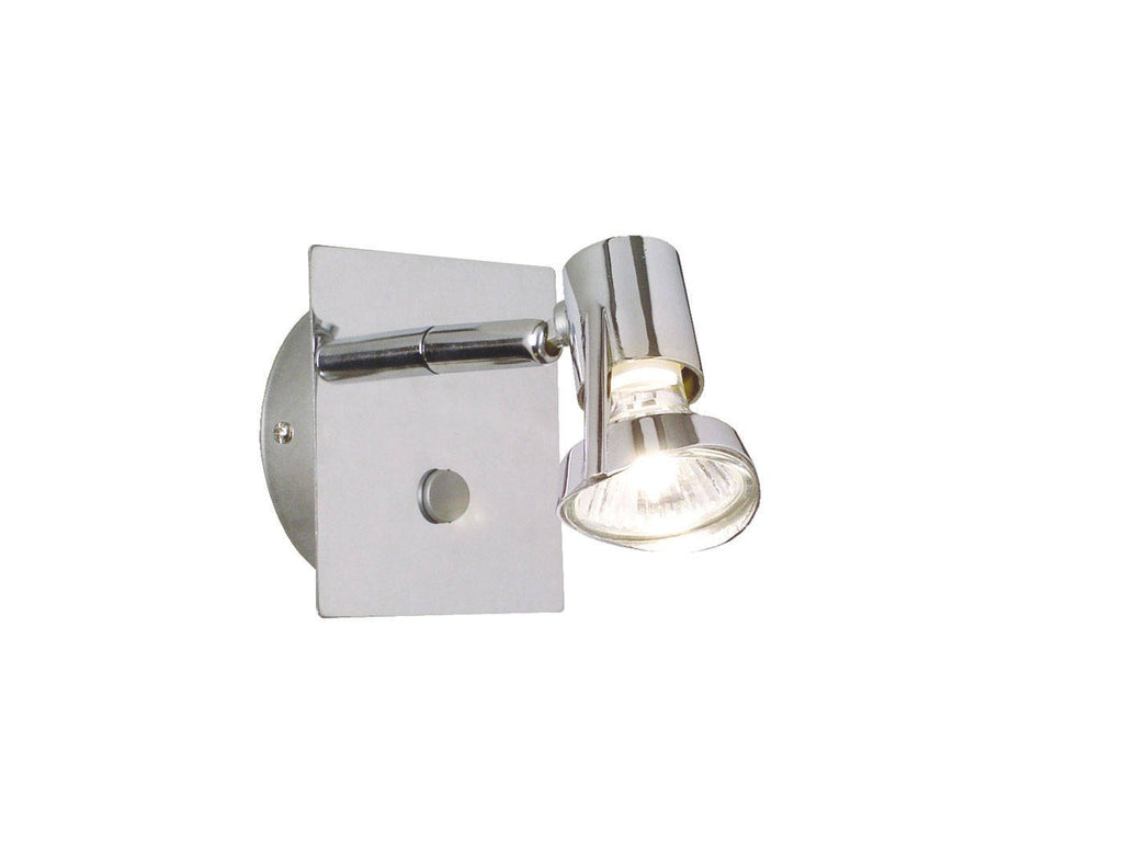 Nordlux Mainroad 20641133 Chrome Wall Light-DC Lighting Ltd