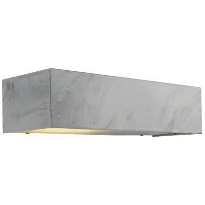 Nordlux Square Maxi 22911031 Galvanized Wall Light