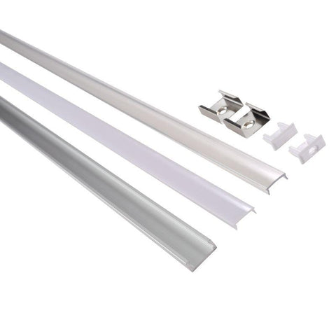 Nordlux Strip-Rail 79209929 Straight Aluminium/Plastic