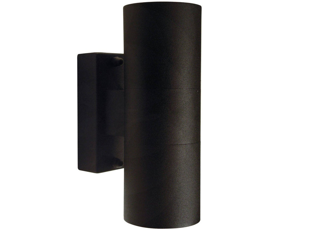 Nordlux Tin 21271103 Black Double Wall Light-DC Lighting Ltd