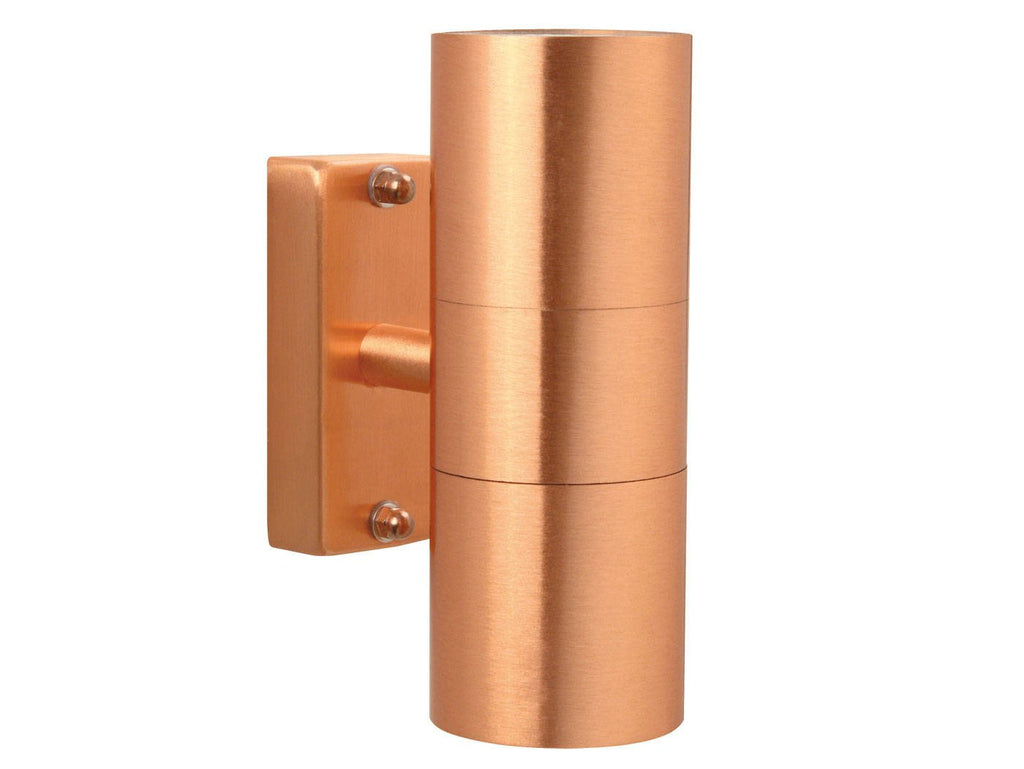 Nordlux Tin 21271130 Copper Double Wall Light-DC Lighting Ltd