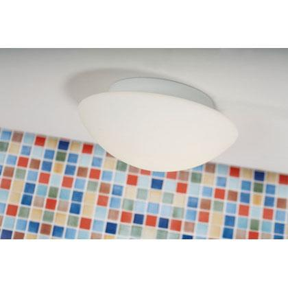 Nordlux Ufo Maxi 25626001 White Wall/Ceiling Light, IP43/IP44 Rated-Nordlux-DC Lighting Ltd