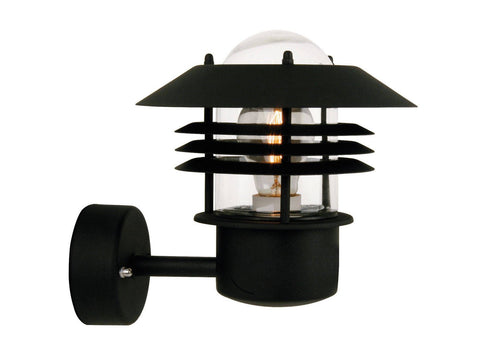 Nordlux Vejers 25091003 Black Wall Light | Up-Nordlux-DC Lighting Ltd