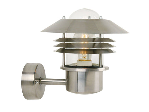 Nordlux Vejers 25091034 Stainless steel Wall Light | Up