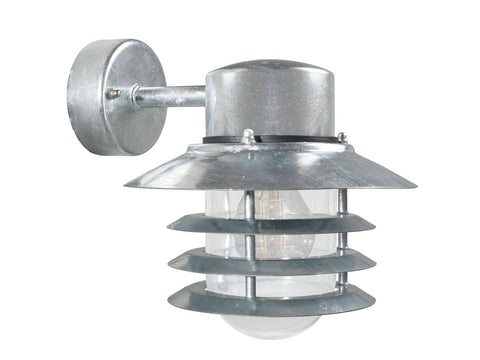 Nordlux Vejers 74461031 Galvanized Wall Light |Down