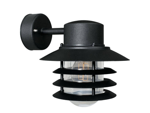 Nordlux Vejers 74471003 Black Wall Light |Down