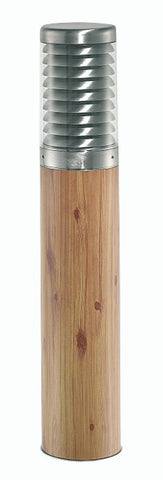 Oaks Titano 820 PED WOOD Wood-Effect Single Head Post