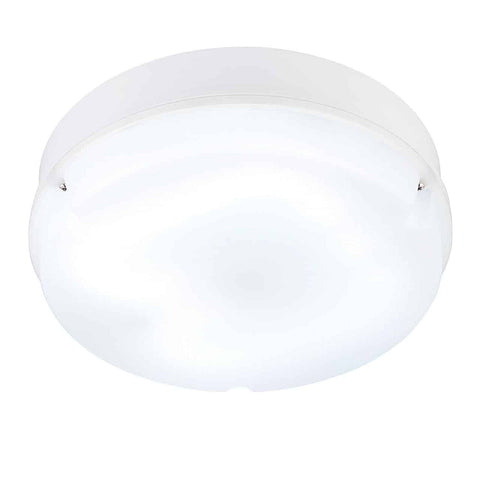 Saxby 43864 Pluto 280mm round flush HF & EM IP65 28W