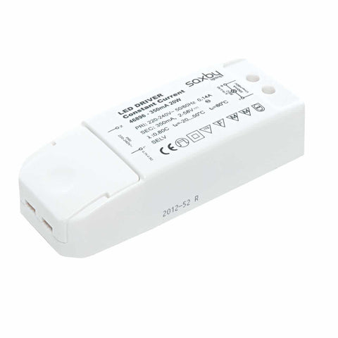 Saxby 46896 LED driver constant current 20W 350mA