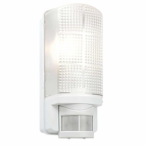 Saxby 48740 Motion PIR 1lt Wall IP44 60W