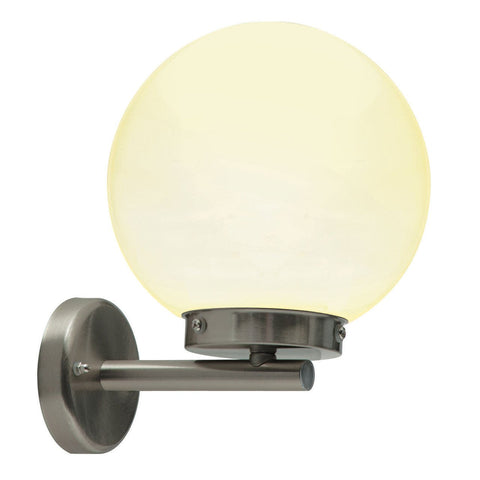 Saxby 51672 Pallo 1lt Wall IP44 28W