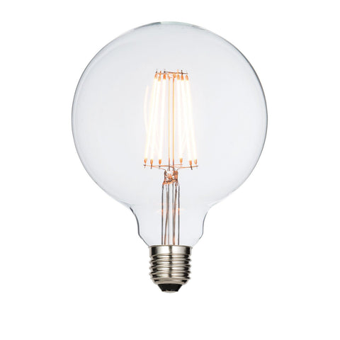 Saxby 61686 E27 LED filament globe 125mm 6W