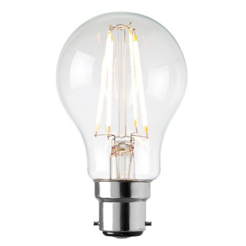 Saxby 69012 B22 LED filament GLS 6.2W