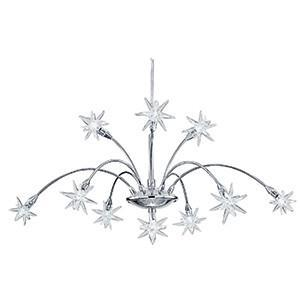 Searchlight 58210-10 STARS Star 10 Light Chrome Pendant Fitting