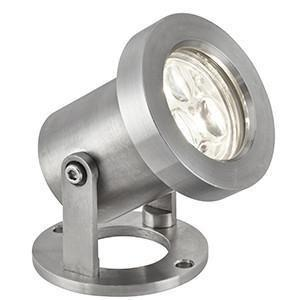 Searchlight 6223SS LED OUTDOOR LIGHTS 3 X 1W LED Stainless Steel Outdoor Spotlight. IP65