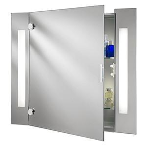 Searchlight 6560 BATHROOM LIGHTS 2 Light Mirror Cabinet-Shaver Socket
