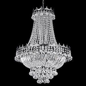 Searchlight 9112-52CC VERSAILLES 9 Light 52cm Chrome Chandelier Complete With Crystal