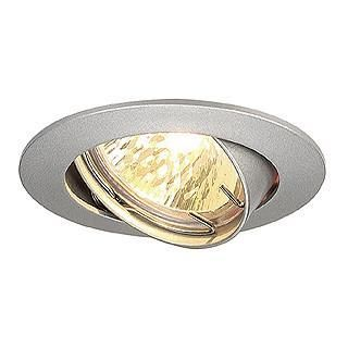 SLV 111179 PIKA MR16 downlight slewable silvergrey