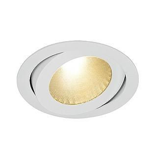 SLV 160644 BOOST B TURNO Downlight swivelable round silvergrey 13W LED warm white-DC Lighting Ltd