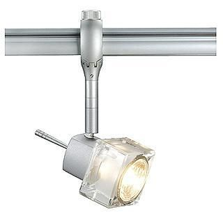 SLV 184542 BLOX spot lamp head for EASYTEC II GU10 silvergrey-SLV-DC Lighting Ltd