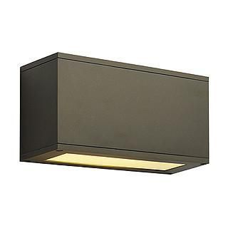 SLV 229618 THEOS 101 E27 wall lamp bronze max. 24W-SLV-DC Lighting Ltd