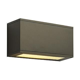 SLV 229628 THEOS 102 E27 wall lamp bronze max. 24W up/down-SLV-DC Lighting Ltd