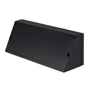 SLV 230030 PEMA SQUARE wall lamp black E27 max. 15W-SLV-DC Lighting Ltd