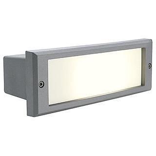SLV 230415 ALDA wall recessed lamp G24D-2 stone grey-SLV-DC Lighting Ltd