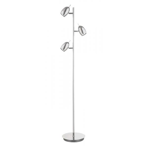 Wofi QUINCY 3116.03.01.0000 Chrome Floor Lamp-Wofi-DC Lighting Ltd