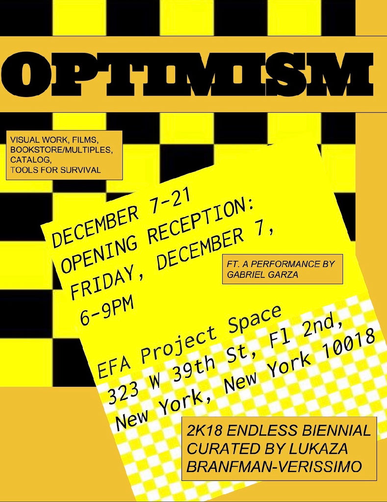 Endless Editions Biennial - Optimism at EFA Project Space