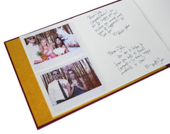 instax wide photo guestbooks