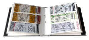ticket stub albums
