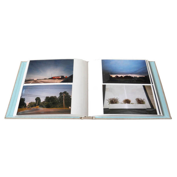 slip in style photo album for two 4x6 photos per page