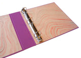 custom 3 ring binder
