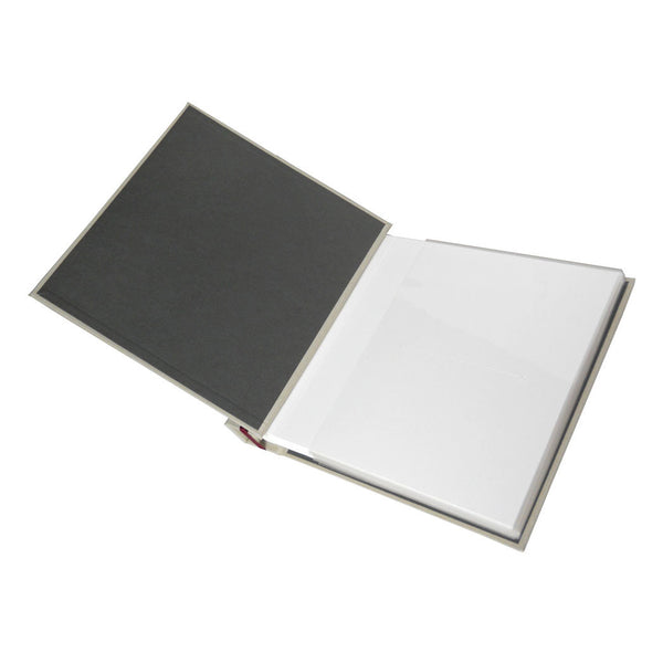 custom satin ribbon bound photo album (5x7) - 96 photos