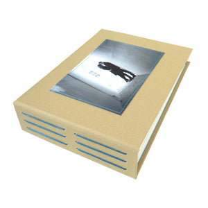 custom photo guestbook (longstitch)