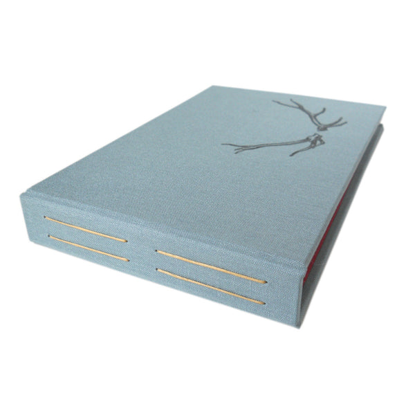 4x6 photo album with antler image