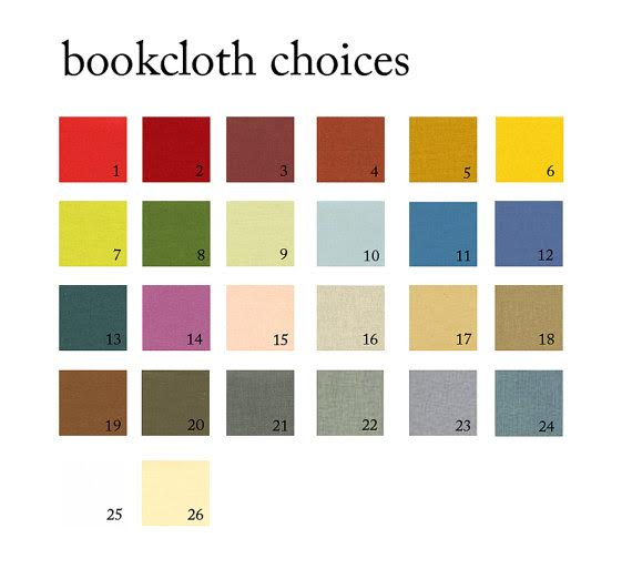 custom cloth color options for clamshell box