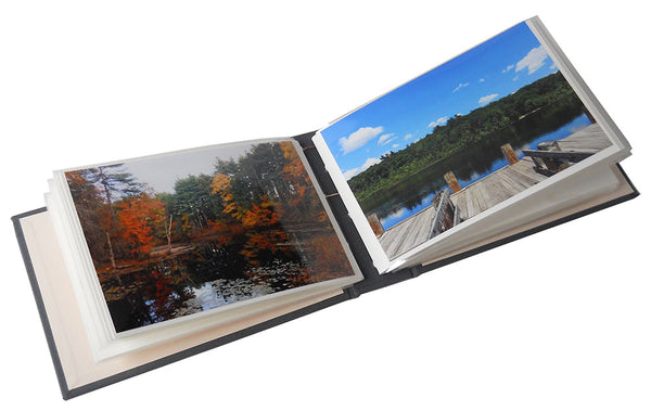 4x6 photos in slip in style photo album
