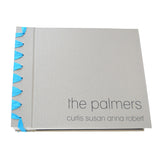 personalized grosgrain ribbon bound album (8x8)